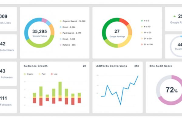 Web & Social Media Dashboard
